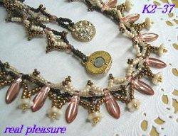 画像3: K2-37 お花とダガーのネックレス